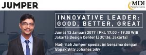 Innovative Leader Jumper Januari 2017