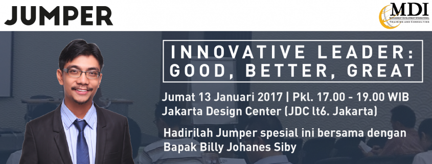 Innovative Leader Jumper Januari 2017