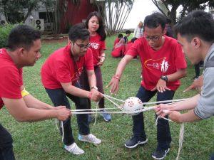 pelatihan outbond leadership