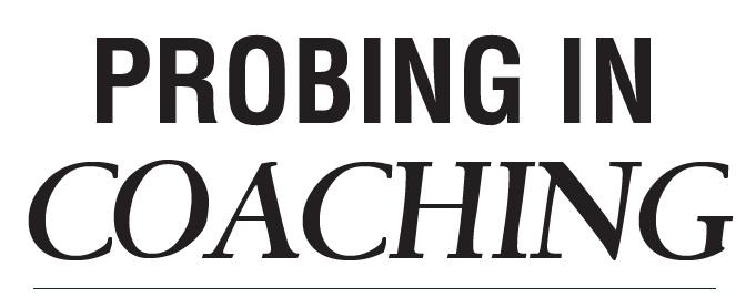 probing in coaching