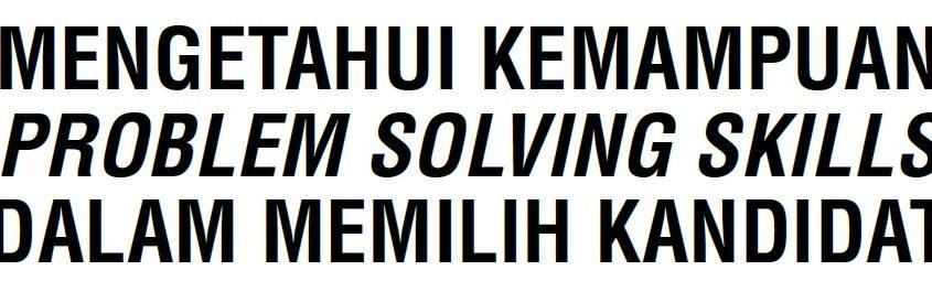 kemampuan problem solving skills