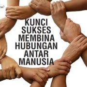 membina hubungan antar manusia