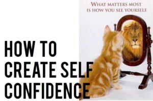 create self confidence
