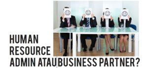 Human Resource admin or business partner