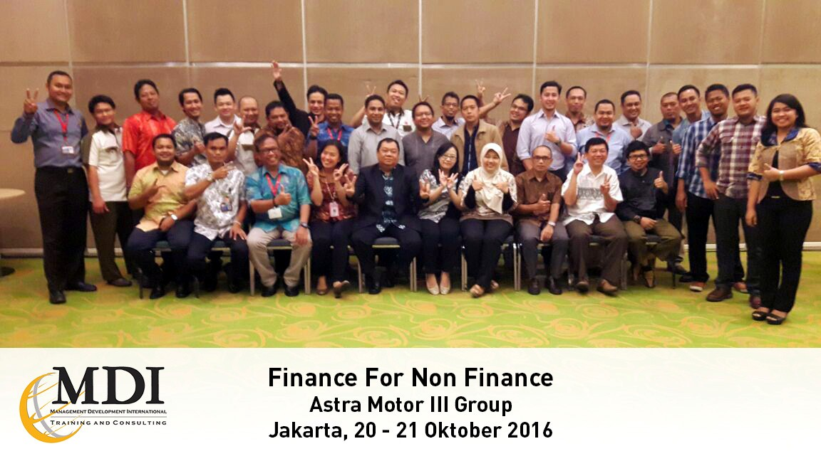 Pelatihan Finance for Non Finance